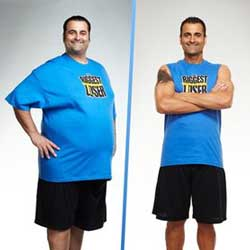 Mike Messina - the Biggest Loser winner