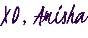 Amisha Patel Signature Purple