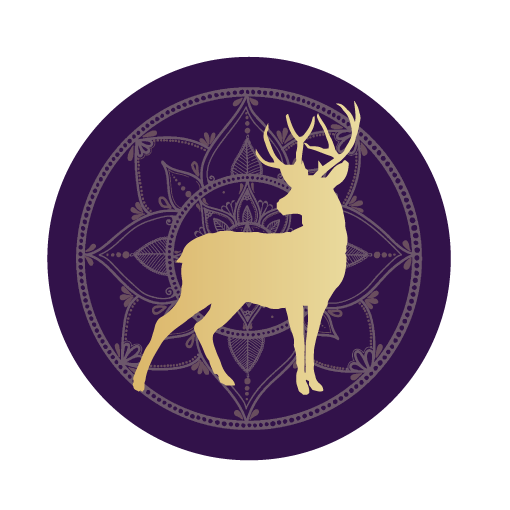 Deer mandala icon