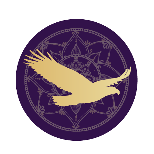 Hawk mandala icon